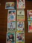 70 Indianapolis Colts Football Cards, 1970s, 1980s, 90s