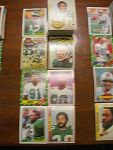 83 Philadelphia Eagles Football Cards, 1970s, 1980s, 90