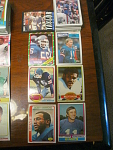 74 New York Giants Football Cards, 1970s, 1980s, 90s