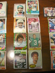84 New York Jets Football Cards, 1970s, 1980s, 90s