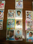 78 Houston Oilers Football Cards, 1970s, 1980s, 90s