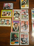 51 Oakland And Los Angeles Raiders Football Cards, 1970