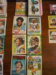 62 Los Angeles Rams Football Cards, 1970s, 1980s, 90s