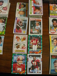 78 Washington Redskins Football Cards, 1970s, 1980s, 90