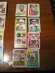 45 Seattle Seahawks Football Cards, 1970s, 1980s, 90s