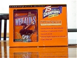 24k Gold Wheaties Tiger Woods Replica Box, Mib, Coa