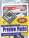Upper Deck Choice 1998, 1999 Nhl Hockey Preview Pack