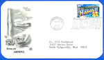 Hawaii, 50 State Greetings First Day Cancellation