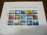 Usps Cloudscapes First Day Cover Cancellation