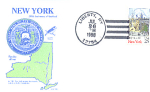 New York 200th Anniversary, Liberty, Ny 1 Stamp 1988 Fd