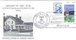 Nochap 1979 Historic Darwin R. Barker Library, 2 Stamp,
