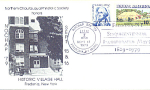 Nochap 1979 Historic Vilage Hall, 2 Stamp, 1979 Fdc