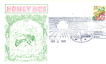 Honey Bee, 1 Stamp Sioux City, Ia 1988 Fdc
