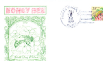 Honey Bee, 1 Stamp Honey Creek, Ia 1988 Fdc