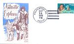 Antarctic Explorers Nathaniel Palmer, 1 Stamp 1988 Fdc