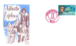 Antarctic Explorers Lt. Charles Wilkes, 1 Stamp 1988 Fd