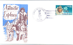 Antarctic Explorers Richard E. Byrd, 1 Stamp 1988 Fdc