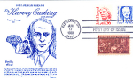 Dr. Harvey Cushing, 3 Stamp 1988 Fdc