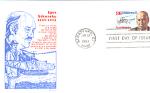 Igor Sikorsky, 1 Stamp 1988 Fdc