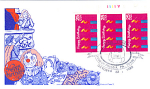 Happy Birthday 3 Stamp 1988 Fdc