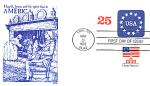 America, United States 2 Stamp 1988 Fdc