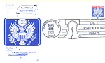 Official Mail Usa Domestic Mail, Let Freedom Ring Stamp