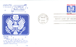 Official Mail Usa Domestic Mail 1 Stamp 1988 Fdc