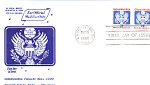 Official Mail Usa Domestic Mail 2 Stamp 1988 Fdc