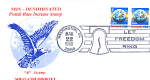 Earth Stamp Domestic Mail 2 E, Let Freedom Ring Stamp 1