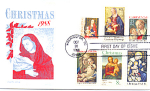Christmas 6 Stamp, Berlin, Nh 1988 Fdc