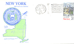 New York 200th Anniversary, Niagara Falls, Ny 1 Stamp 1