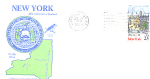 New York 200th Anniversary, Buffalo, Ny 1 Stamp 1988 Fd