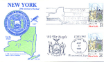 New York 200th Anniversary, Albany, Ny 2 Stamp 1988 Fdc