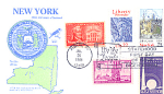 New York 200th Anniversary, Albany, Ny 5 Stamp 1988 Fdc