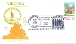 Virginia 200th Anniversary, Richmond, Va 1 Stamp 1988 F