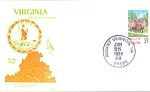 Virginia 200th Anniversary, Mount Vernon, Va 1 Stamp