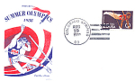 Summer Olympics Single Stamp, Colorado Springs, Co 1988