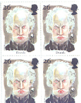 Dracula, Monster Series Block Of 4. Stamps