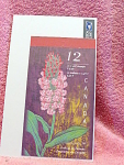 Orchids Of Canada 12 Stamp Book