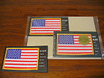 Usps Old Glory American Flag Patch 20 Stamped Postcard