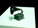 Copper Alloy Victrola Pencil Sharpener