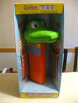 Talking Alligator Head Giant Pez Candy Roll Dispenser