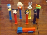 Collection Of 8 Pez Dispensers From The 1980s To 90s