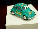 Green Die Cast Volkswagen Beetle Car