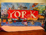 The York In A Box Game Of York, Pa, Mib, Never Opened