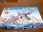 Russian Su 25 Frogfoot Bomber Model Kit