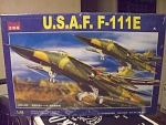 U.s. Air Force F-111e Bomber By Kitech, Mib