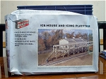 Ice House And Icing Platform With Original Box