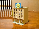 Sunnys Hotel 4 Story Block Building N Scale Train Scen