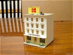 Kodak, Uncle Sams 4 Story Block Building N Scale Train